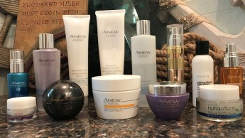 anew and other skin care