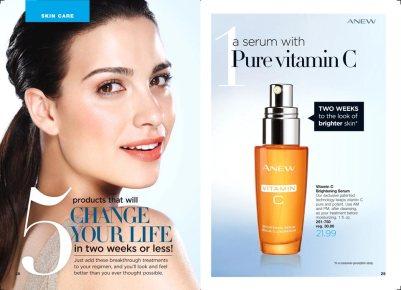 anew vitamin c serum beauty