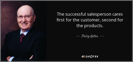 customer is first