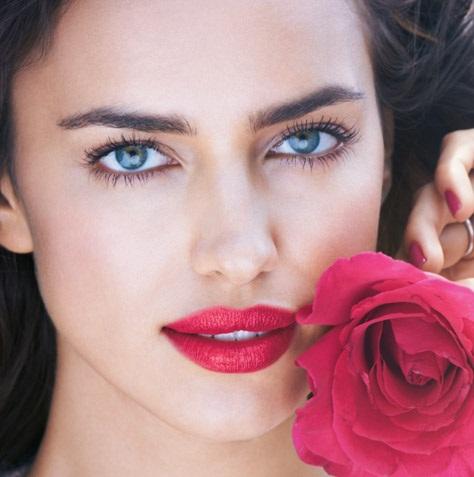 pink lips fair skin